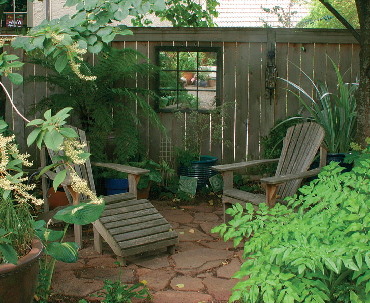Seating Areas Made Simple - FineGardening on Back Garden Seating Area Ideas  id=98381