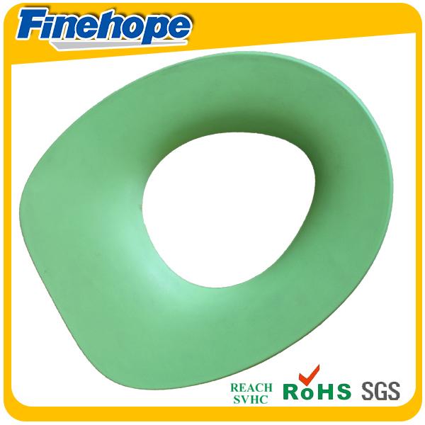 Polyurethane soft warm baby memory foam colorful european toilet seat