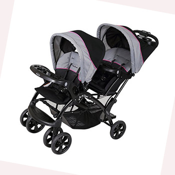 Anti-shock flat free tire modern design custom baby 3 stroller wheel