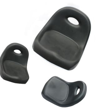 Forklift Accessories PU Customize Forklift Truck Seating Cushion Spare Parts Manufacturer