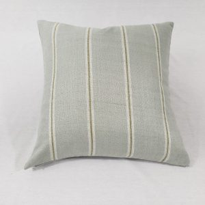 A contemporary stripe cushion