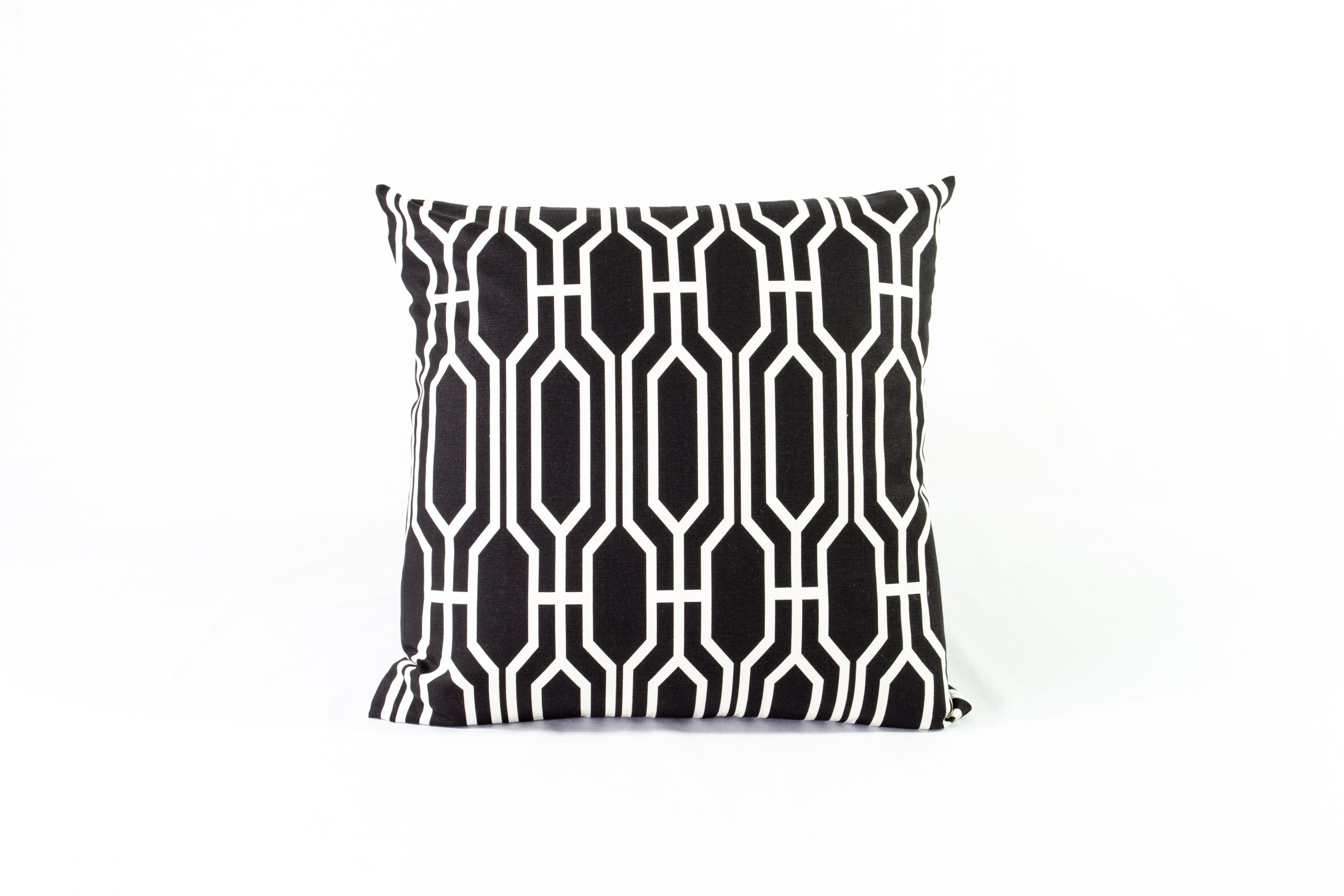 Black & White Geometric Cushion - 19x19 - Qty2 - 1of1