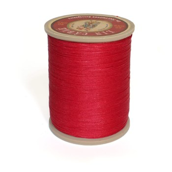 Linen Thread: Red