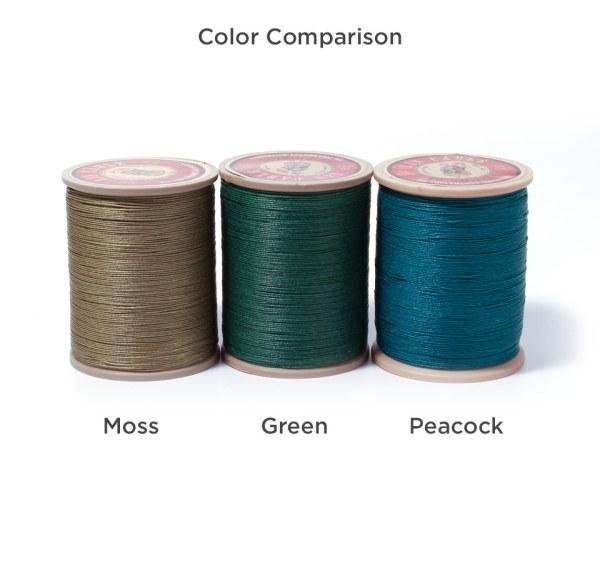 Linen Thread: Green