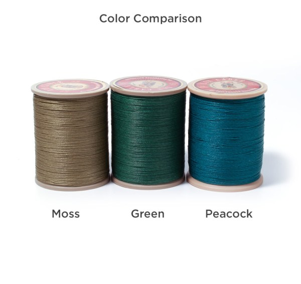 Linen Thread: Green