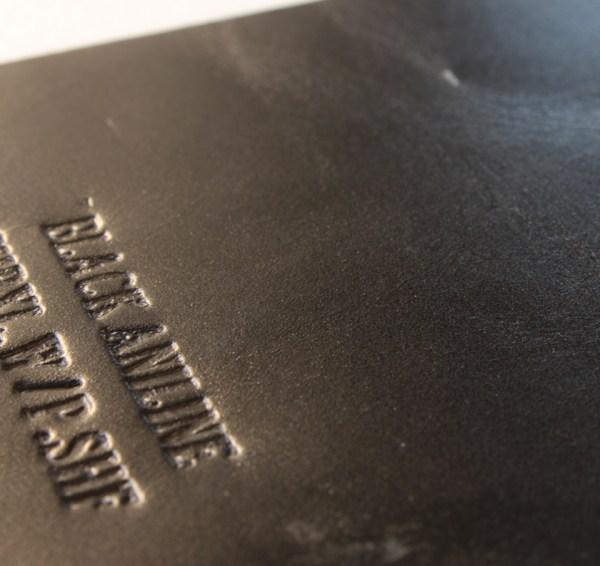 Leather: Chromexcel SHF Black