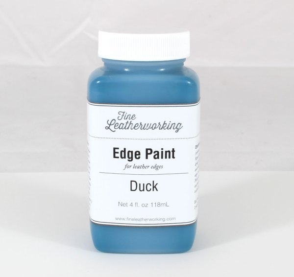 Leather Edge Paint: Duck