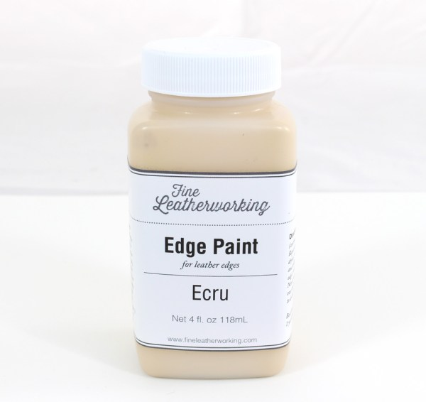 Leather Edge Paint: Ecru