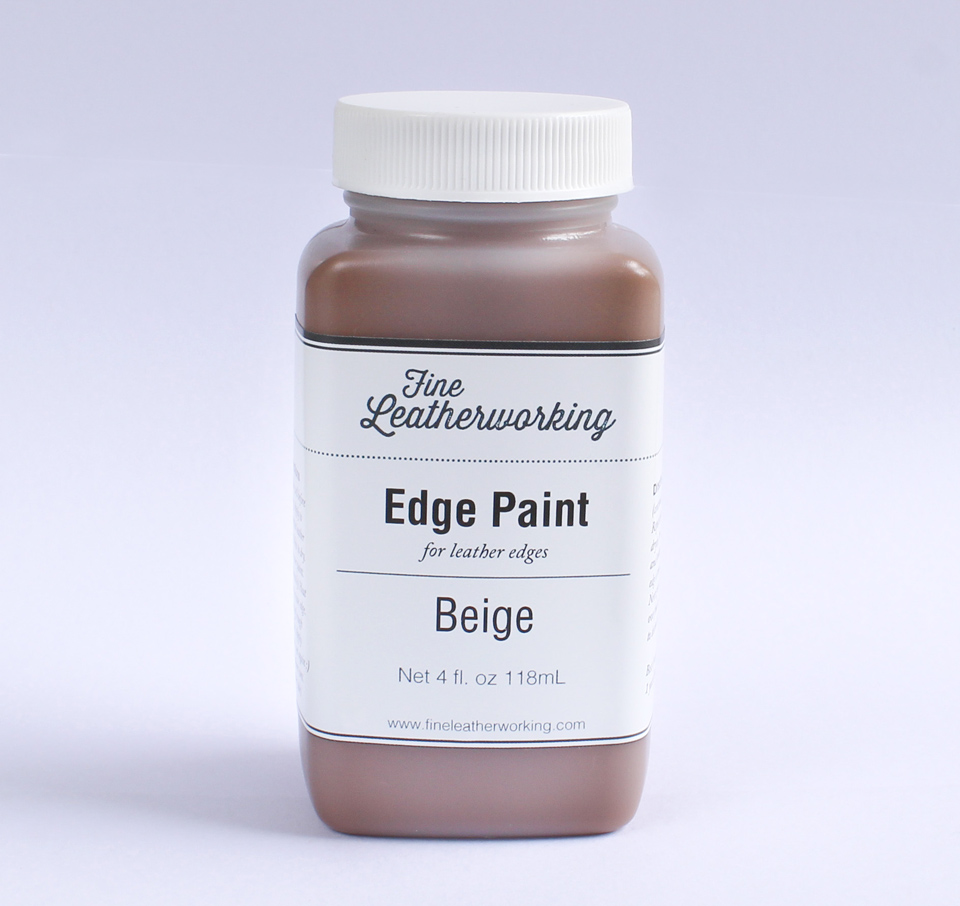 Leather Edge Paint: Beige