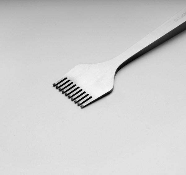 Thonging Iron Ten Teeth (mm)
