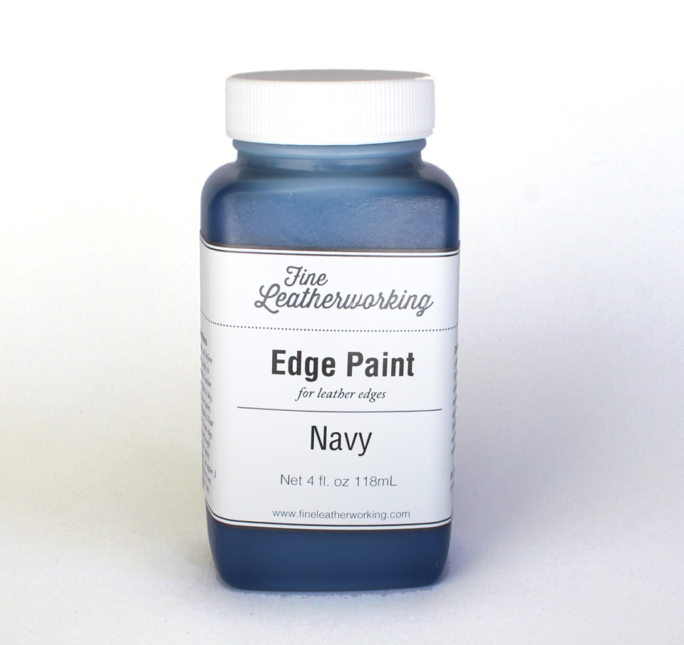 Leather Edge Paint: Navy