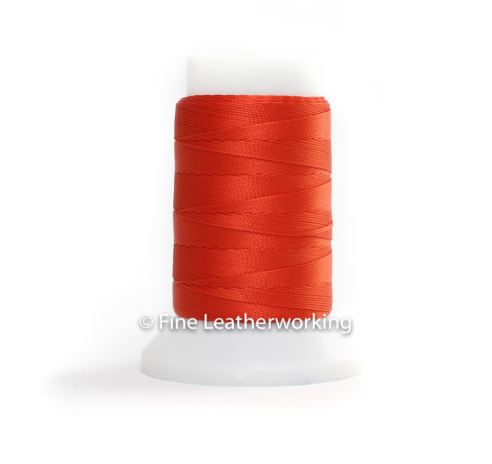 Polyester Thread Size #1: Red Orange