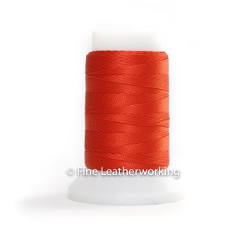 Polyester Thread Size #1: Red Orange