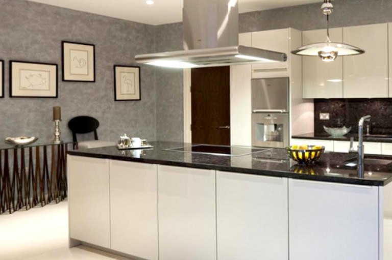 Fine line kitchen designs will take care of all the Plumbing and Electrical
