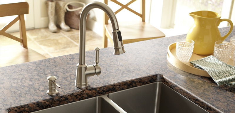 Fine line kitchen designs will give you all the perfect modern sink options