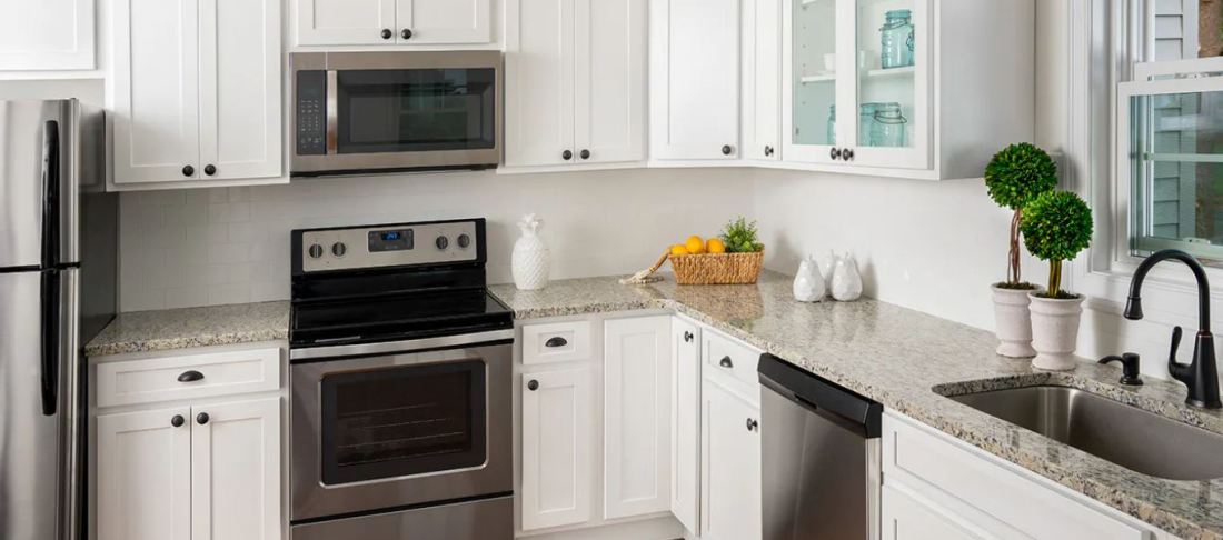 Fine Line Kitchen Designs carries Fabuwood Cabinets