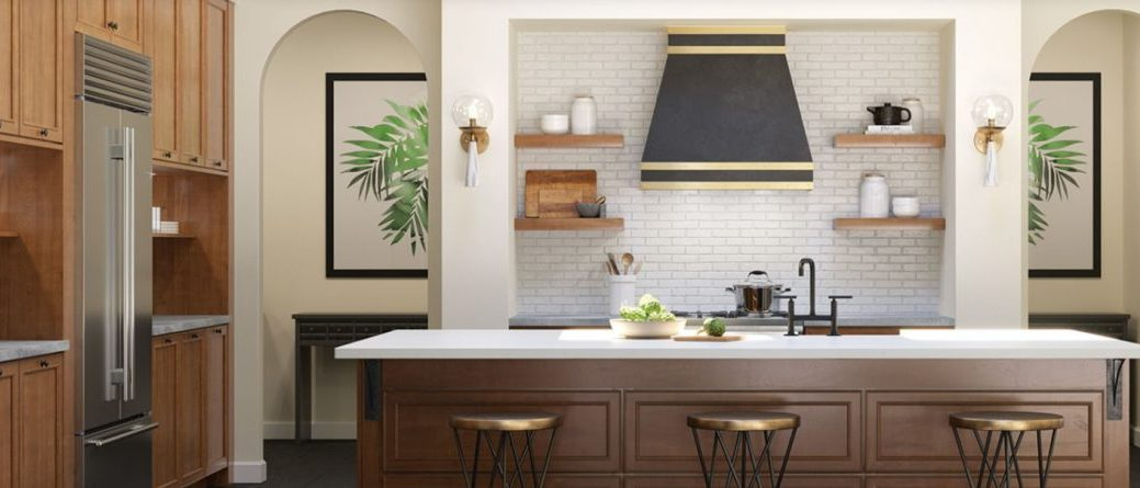 Fine Line Kitchen Designs carries Waypoint Cabinets