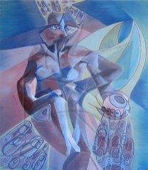 Кубизъм - маслена живопис
