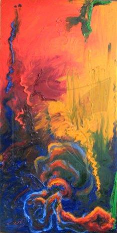 Пулс - маслена живопис