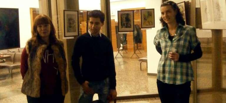 Откриване на Отвори очи с живопис в София – 29.12.2015