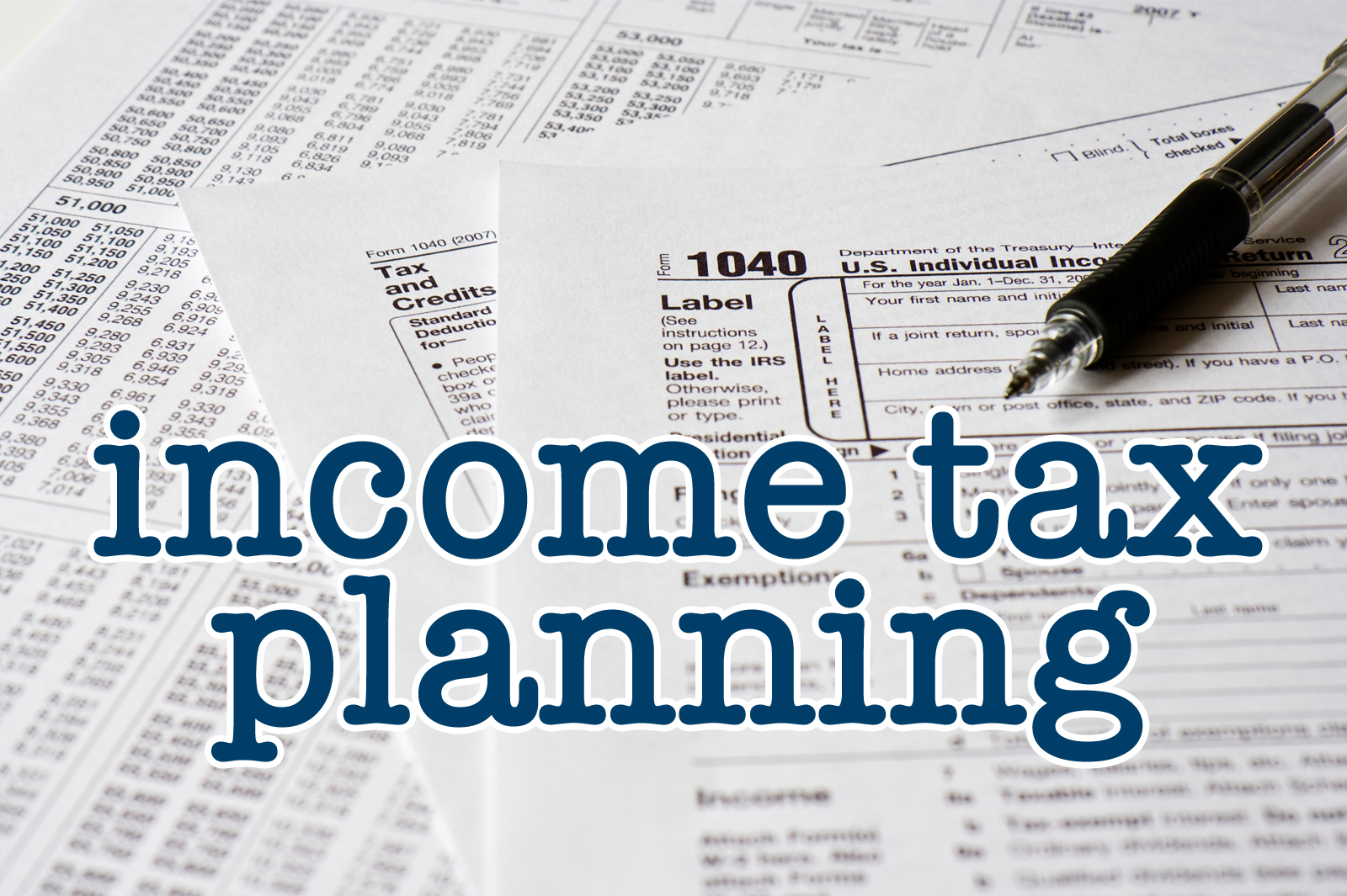 Income Tax Planning Finemark Bank