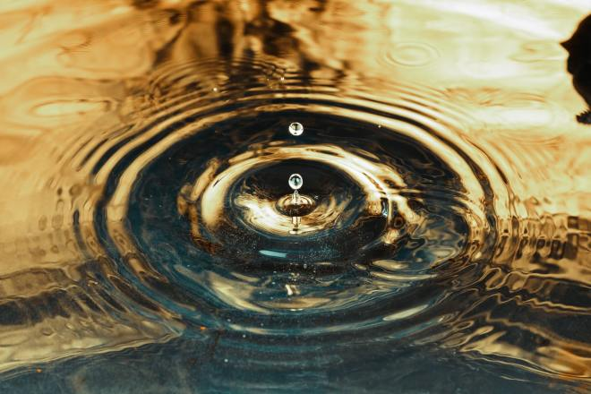 Drop of water - Interruptions have repercussions and possibly cause teams to miss commitments