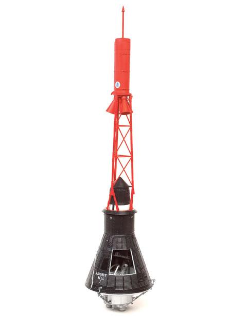 Atomic City 1/12 scale Project Mercury spacecraft ...