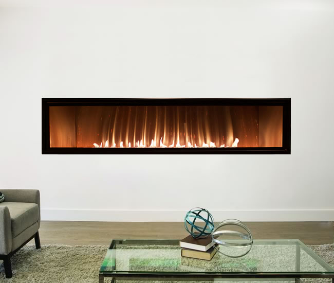 Boulevard 60 Inch Vent Free Linear Fireplace Fine S Gas