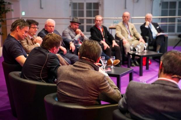 """Die Diskussionsrunde: Für mich als """"Außenstehende"""" hochinteressant aber wo war der Nachwuchs bei """"Gates to the future""""?"""