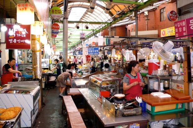 Seoul_Markthalle