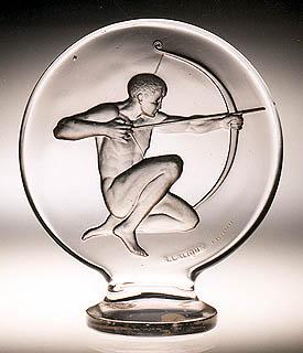 Lalique Archer Mascot