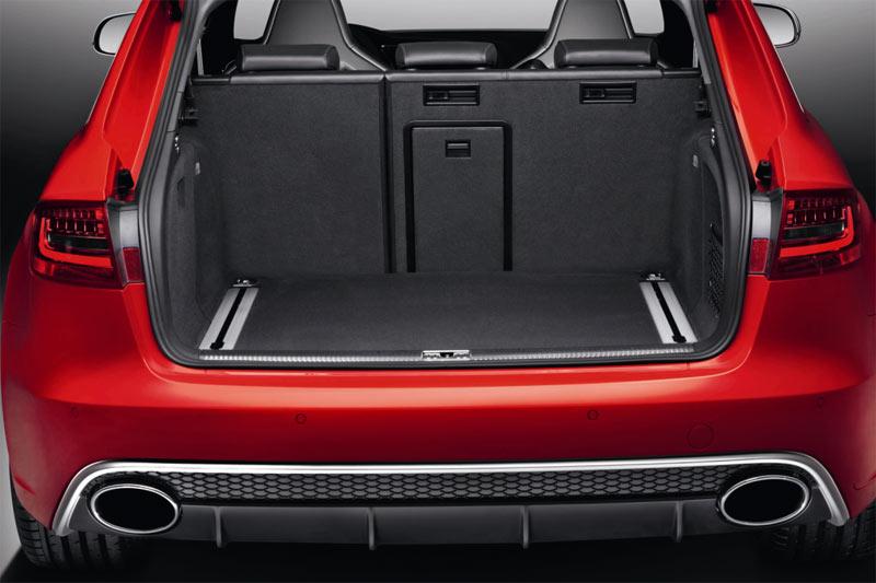 Neuer Audi RS4 Avant - Gepäckraum