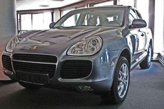 Gebrauchtwagen Porsche Cayenne Turbo zu verkaufen