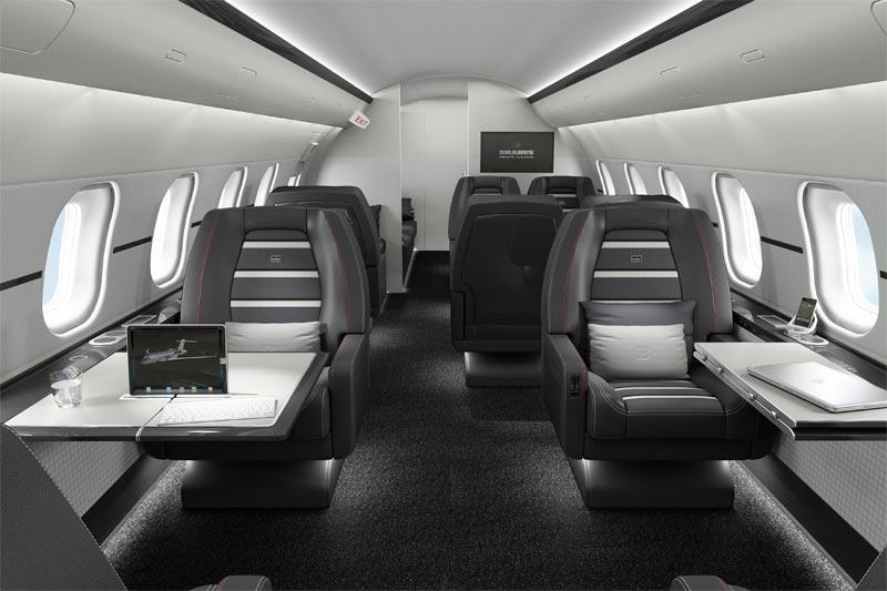BRABUS Private Aviation - Automobiler Edeltuner personalisiert Business Jets