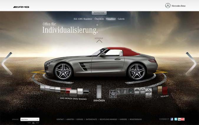 Mercedes Konfigurator SLS