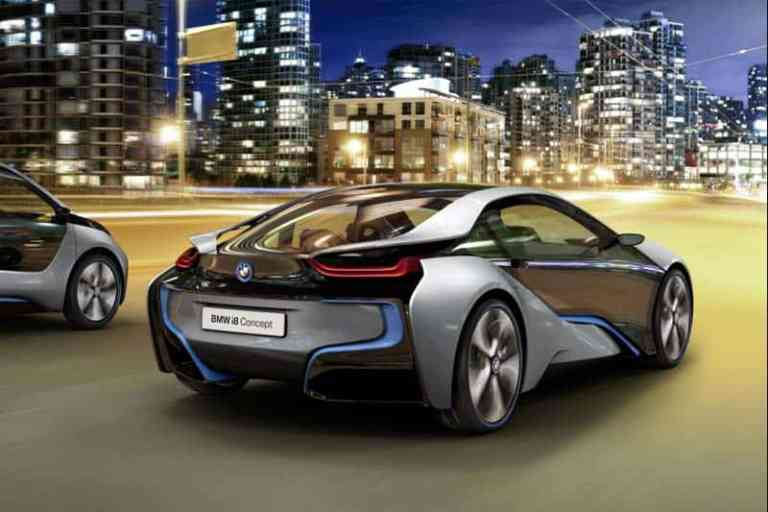 BMW i8 Concept Hybridsportwagen