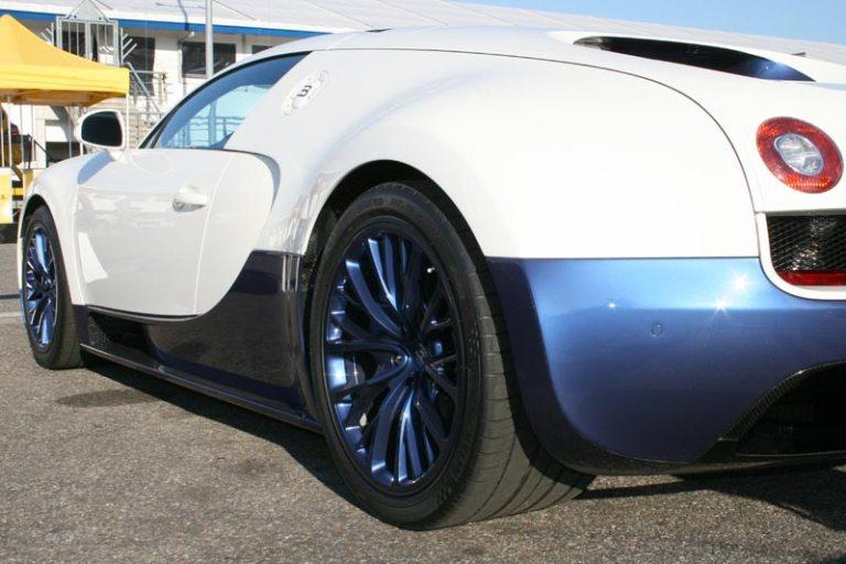 Übersicht aller gebauten Bugatti Veyron