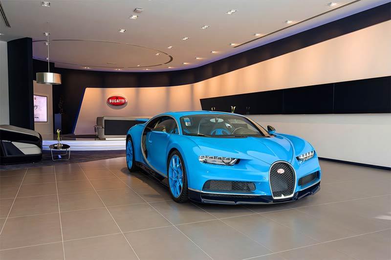 Bugatti Dubai - Bugatti Chiron