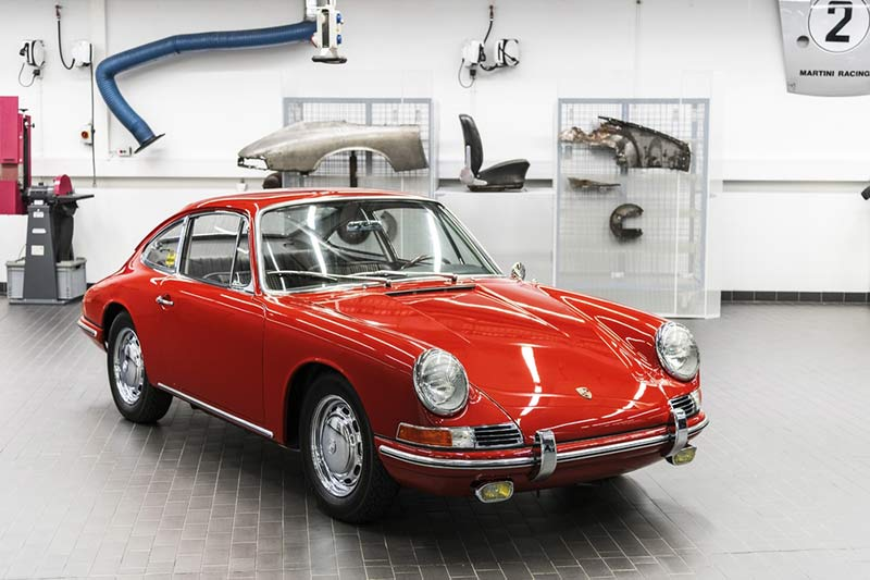 Der älteste Porsche ist ein 911