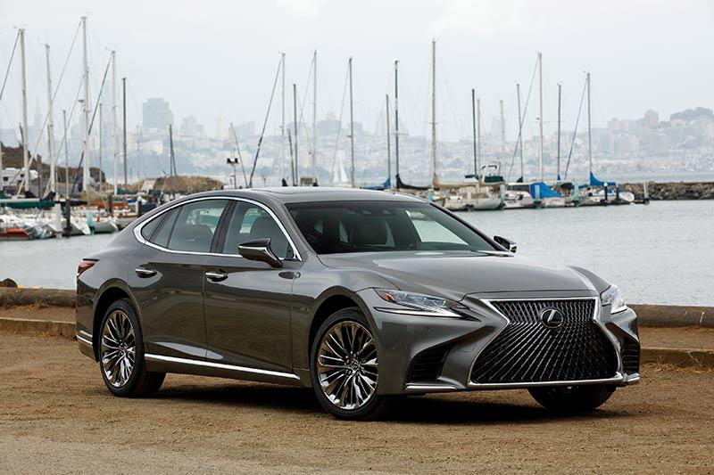 Automobile Neuerscheinungen 2018 - Lexus LS500