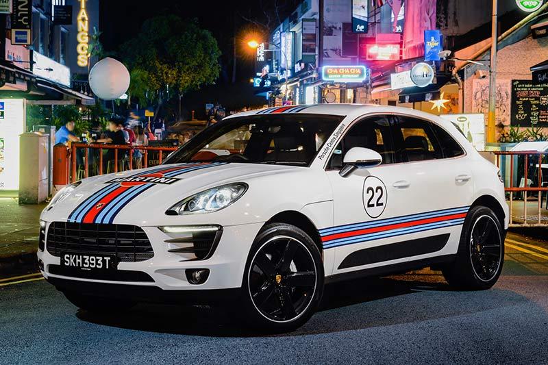 Porsche Macan Sondermodell