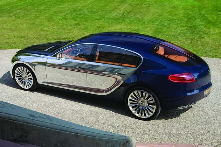 Viertüriger Bugatti Galibier