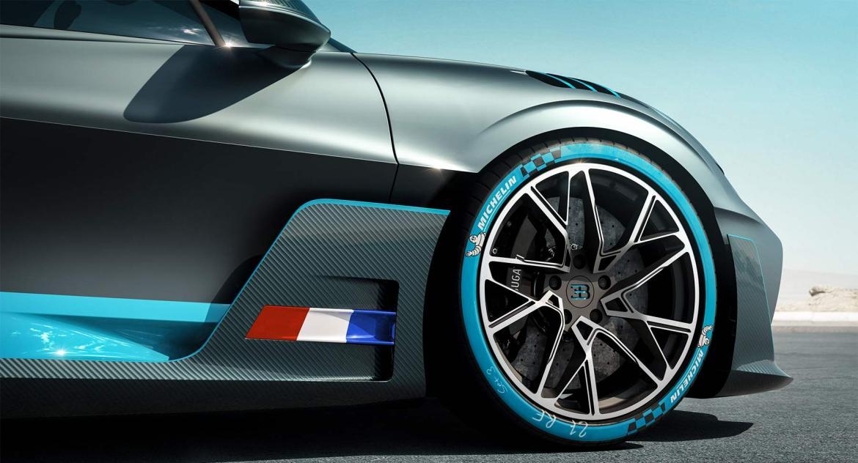 Bugatti Divo Räder