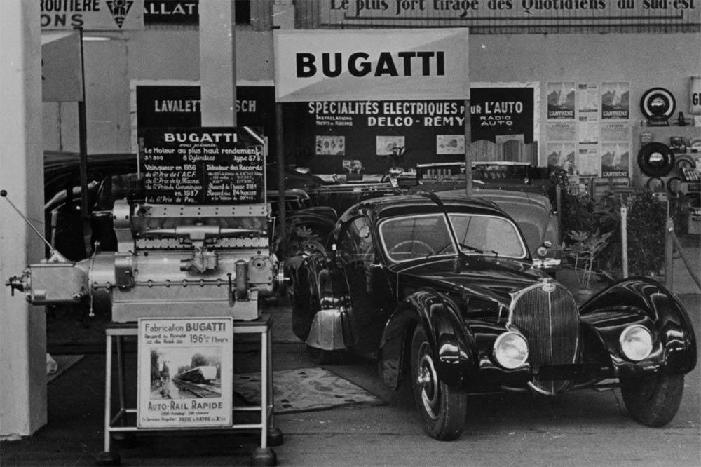 Bugatti Type 57 SC Atlantic La Voiture Noire