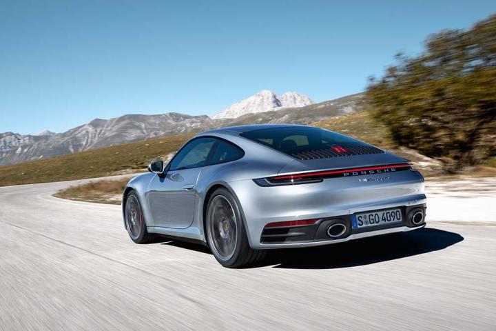 Acht Generationen Porsche 911
