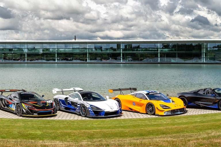 McLaren Lineup Woking