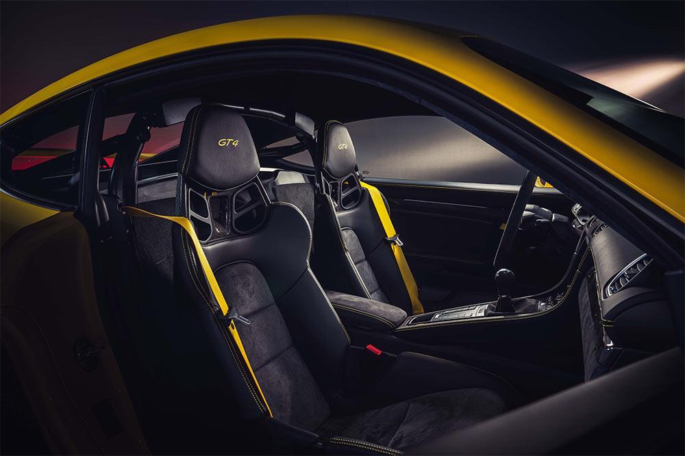 Porsche 718 Cayman GT4 Interieur
