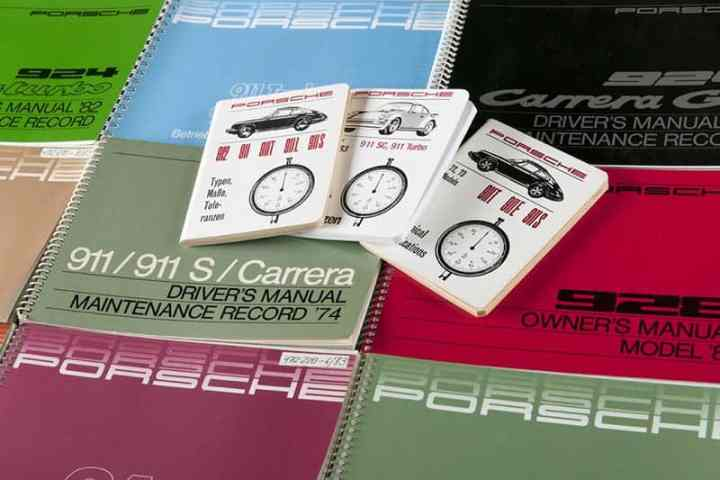 Porsche Handbücher