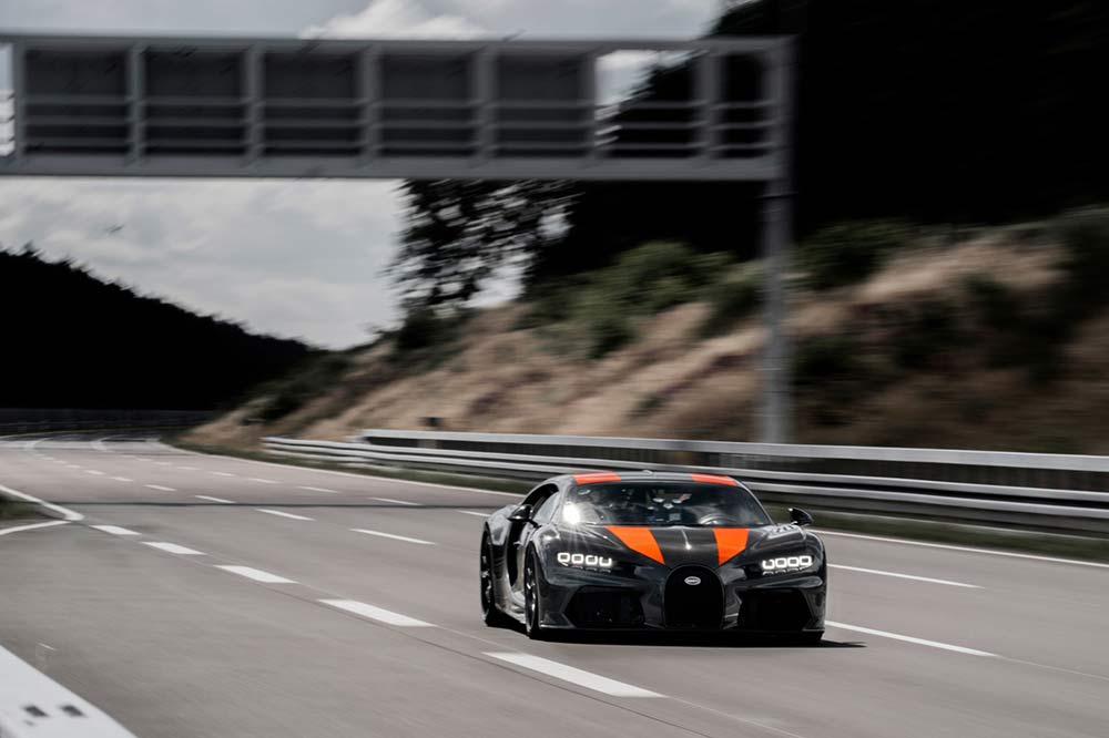 Bugatti Chiron Sport in Ehra Lessien