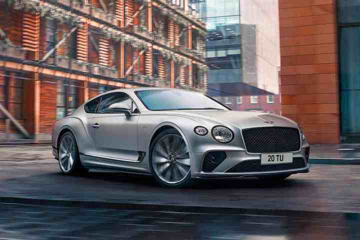 Der neue Bentley Continental GT Speed 2021